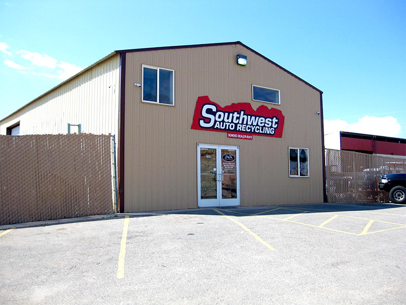 Southwest Auto Recycling's storefront